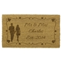 Picture of Personalised Laser Coir - Hearts 40x70cm
