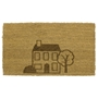 Picture of Personalised Laser Coir - House 40x70cm