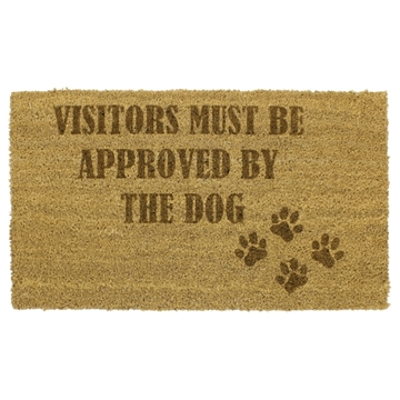Picture of Personalised Laser Coir - Paws 40x70cm
