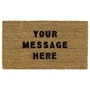 Picture of Personalised Stenciled Coir - Plain 40x70cm