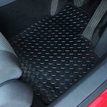 Picture of Tailored 4 Piece Car Mat Set - Rubber