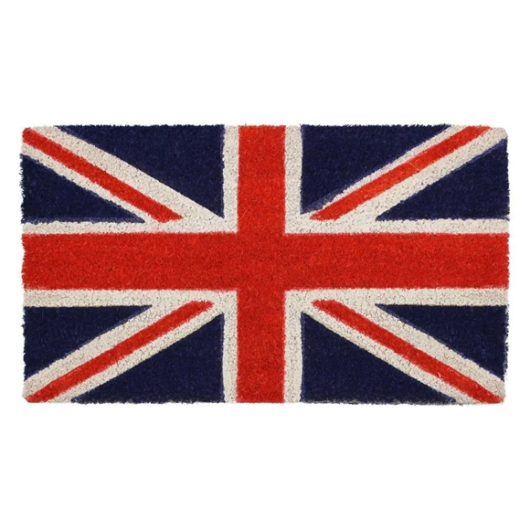 Picture of Union Jack Latex Coir Doormat 40x70cm
