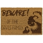 Picture of Personalised Halloween Laser Coir - Monster 40x60cm