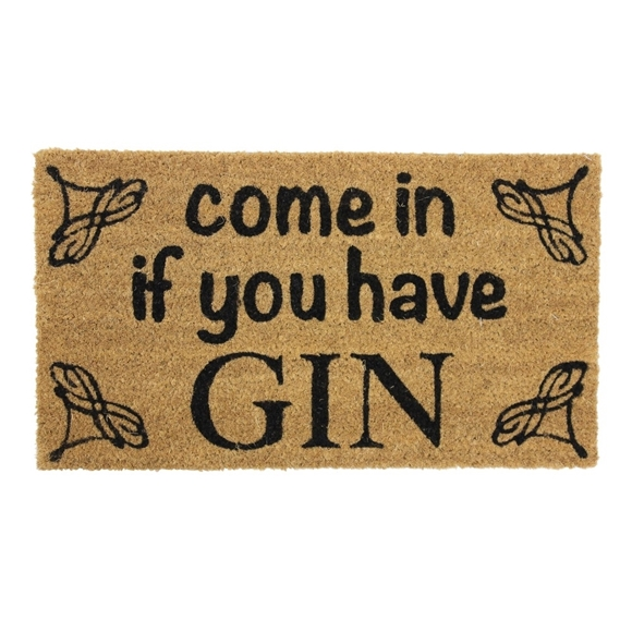 Picture of Gin Latex Coir Mat 33.5x60cm