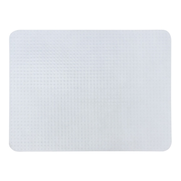 Picture of Office Chair Carpet Protector Rectangular Mat with Grips