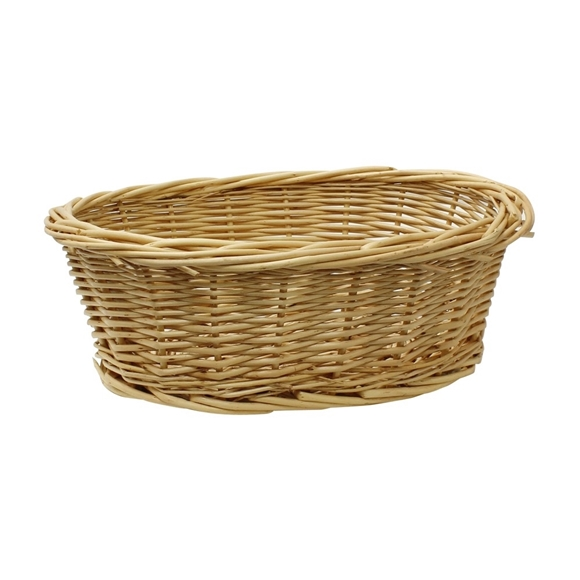 Picture of Oval Willow Storage Basket