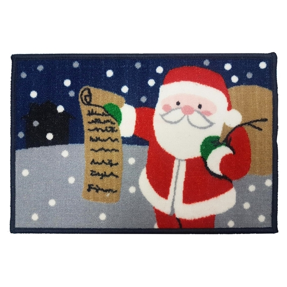 Picture of Christmas Machine Washable Mat -  Santa 40x60cm