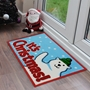 Picture of Christmas Machine Washable Mat  - Polar Bear  40x60cm