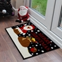 Picture of Christmas Machine Washable Mat  - Santa Chimney 40x60cm