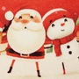 Picture of Christmas Machine Washable Mat  - Merry Christmas and Happy New Year  50x75cm