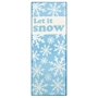Picture of Christmas Runner - Let It Snow 57x150cm
