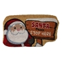Picture of Shaped Christmas Coir -Santa Stop Here 40x70cm