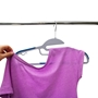 Picture of 60PK S-Shaped Plastic Clothing Hangers - Blue