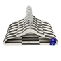 Picture of 100PK Plastic Clothing Hangers - Assorted Grey/White