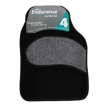 Picture of Endurance - Universal 4 Piece Car Mat Set