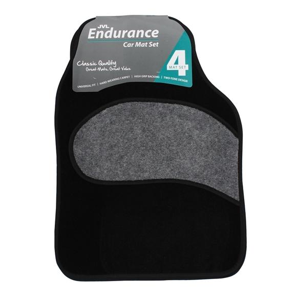 Picture of Endurance - Universal 4 Piece Car Mat Set