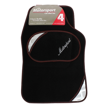 Picture of Motorsport - Universal 4 Piece Car Mat Set