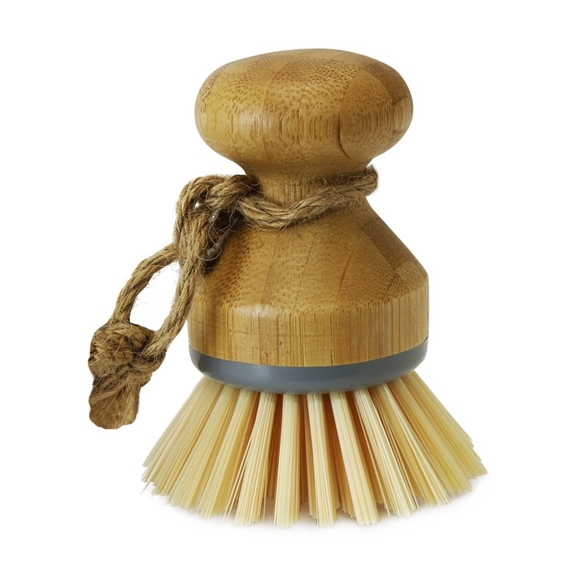 Picture of Bamboo Round Dish Brush