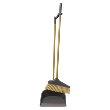 Picture of Bamboo Tall Dustpan and Brush Set