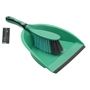 Picture of Deluxe Dustpan and Brush Set - Turquoise