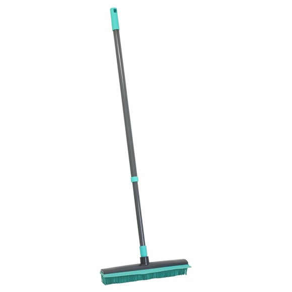 Picture of Extendable Rubber Broom - Turquoise