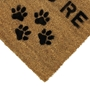 Picture of Personalised Stenciled Coir - Paws Corner  40x70cm