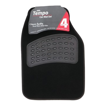 Picture of Tempo - Universal 4 Piece Car Mat Set