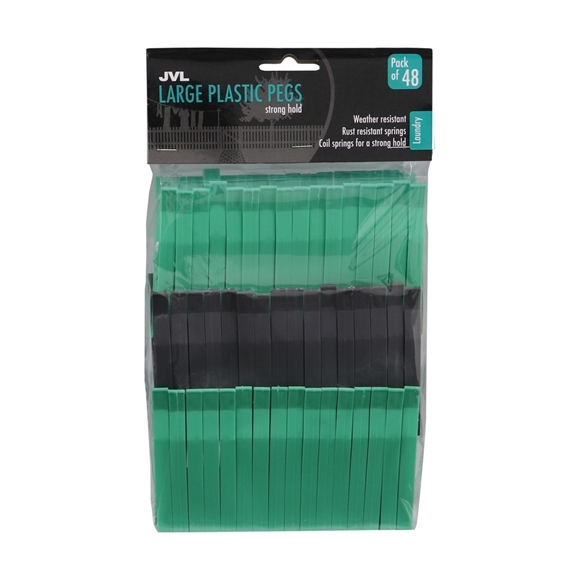 Picture of Large Plastic Pegs - 48 Pack