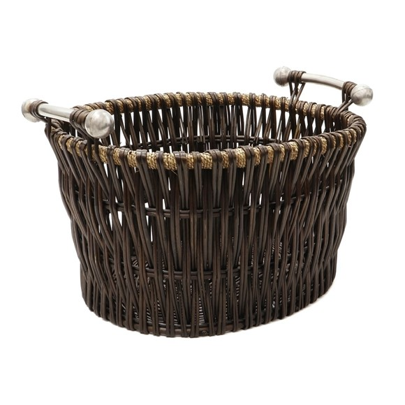 Picture of Dark Log Basket