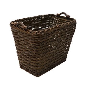 Picture of Square Dark Log Basket
