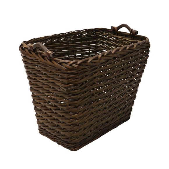 Picture of Square Dark Log Basket