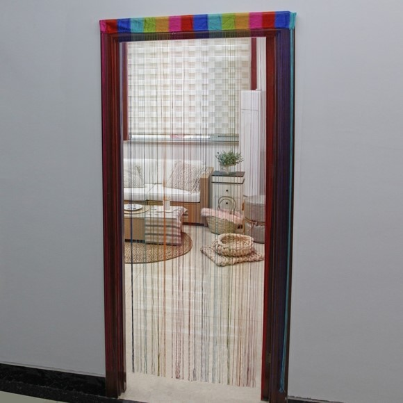 Picture of Rainbow String Door Curtain
