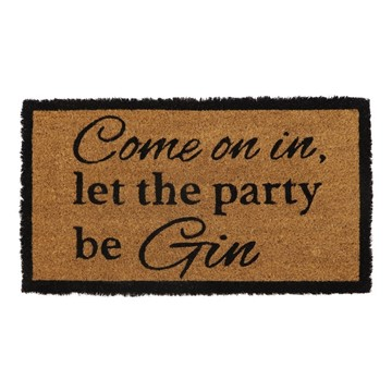 Picture of Gin Latex Coir Doormat 33.5x60cm