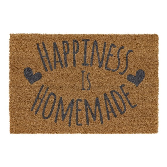 Picture of Happiness Latex Coir Doormat 40x60cm