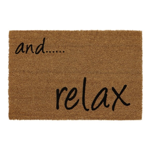Picture of and Relax Latex Coir Doormat 40x60cm