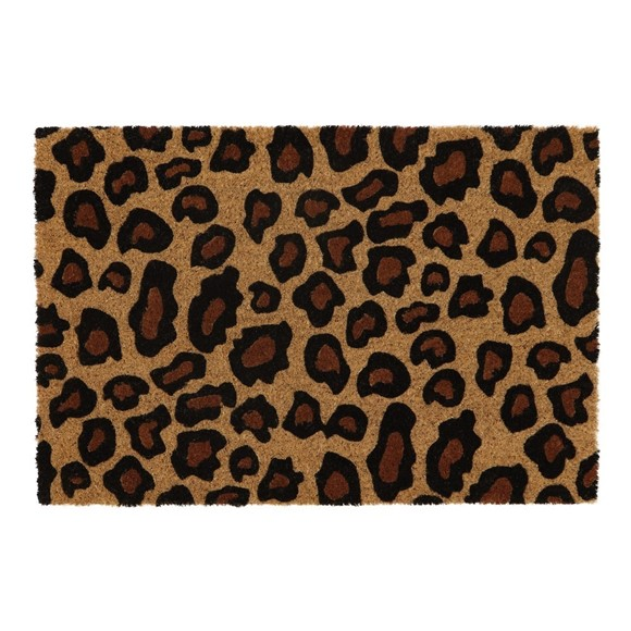 Picture of Leopard Latex Coir Doormat 40x60cm