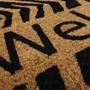 Picture of Welcome Zebra Latex Coir Doormat 40x70cm