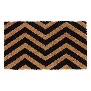 Picture of Zig Zag Latex Coir Doormat 40x70cm