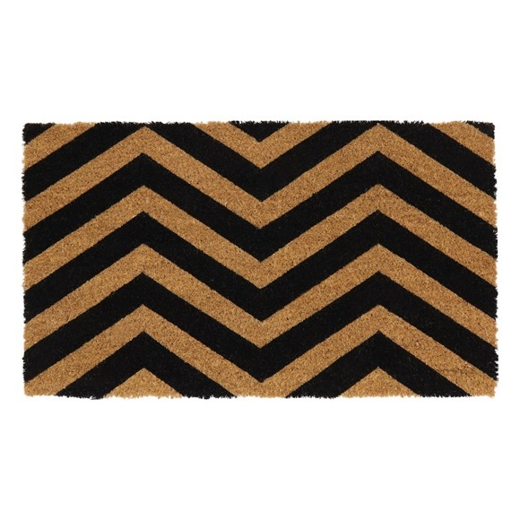 Picture of Zig Zag Latex Coir Doormat 40x70cm
