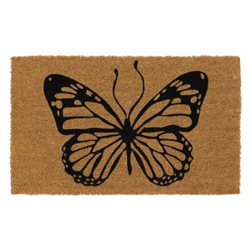 Picture of Butterfly Latex Coir Doormat 45x75cm