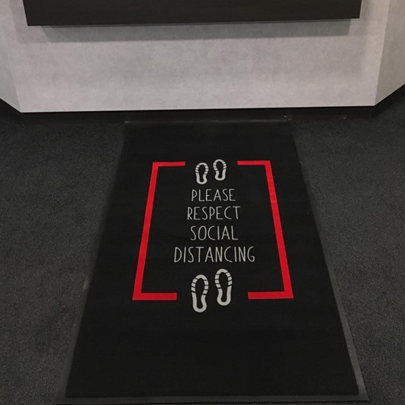 Picture of Social Distancing Barrier Mat