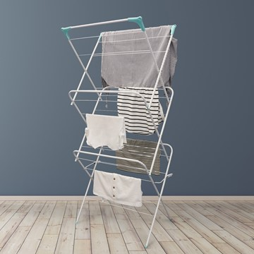 Picture of 3-Tier Folding Clothes Horse Airer