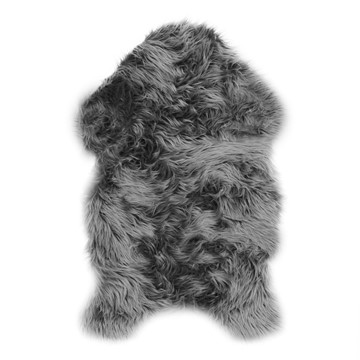 Picture of Alaska Faux Sheepskin Rug - Grey