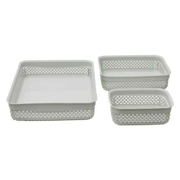 Picture of Assorted S/3 Droplette Storage