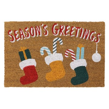 Picture of Christmas Coir - Stocking  40x60cm